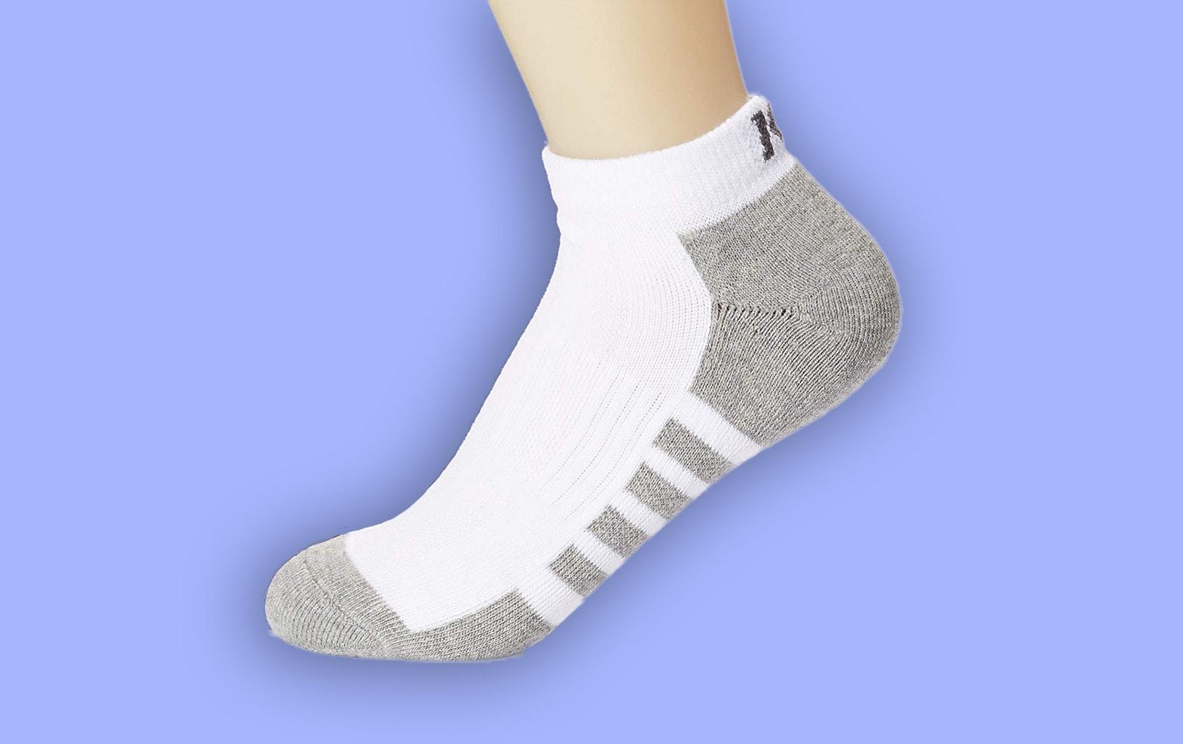 Double thick bottom socks