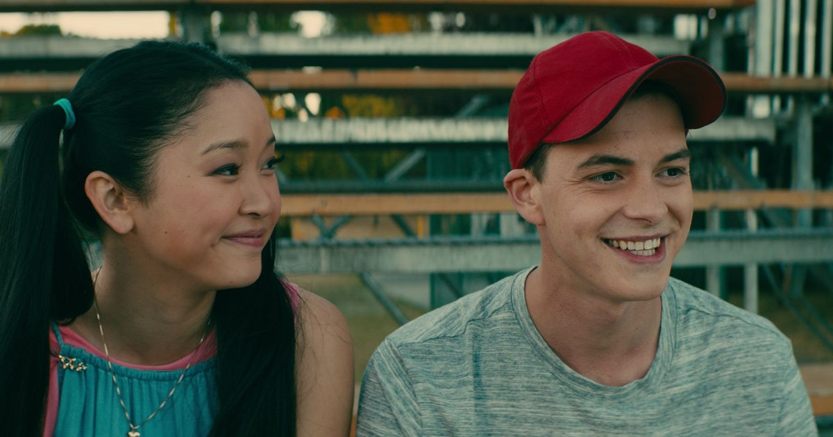 Is lara jean dating peter in real life