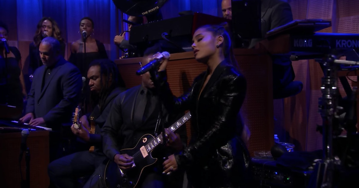 Ariana Grande's Aretha Franklin Tribute On The 'Tonight Show' Will Bring You To Tears