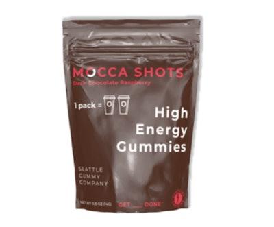 Mocca Shots High Energy Gummies