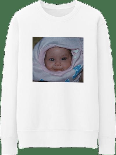 Baby Photo Crew Neck