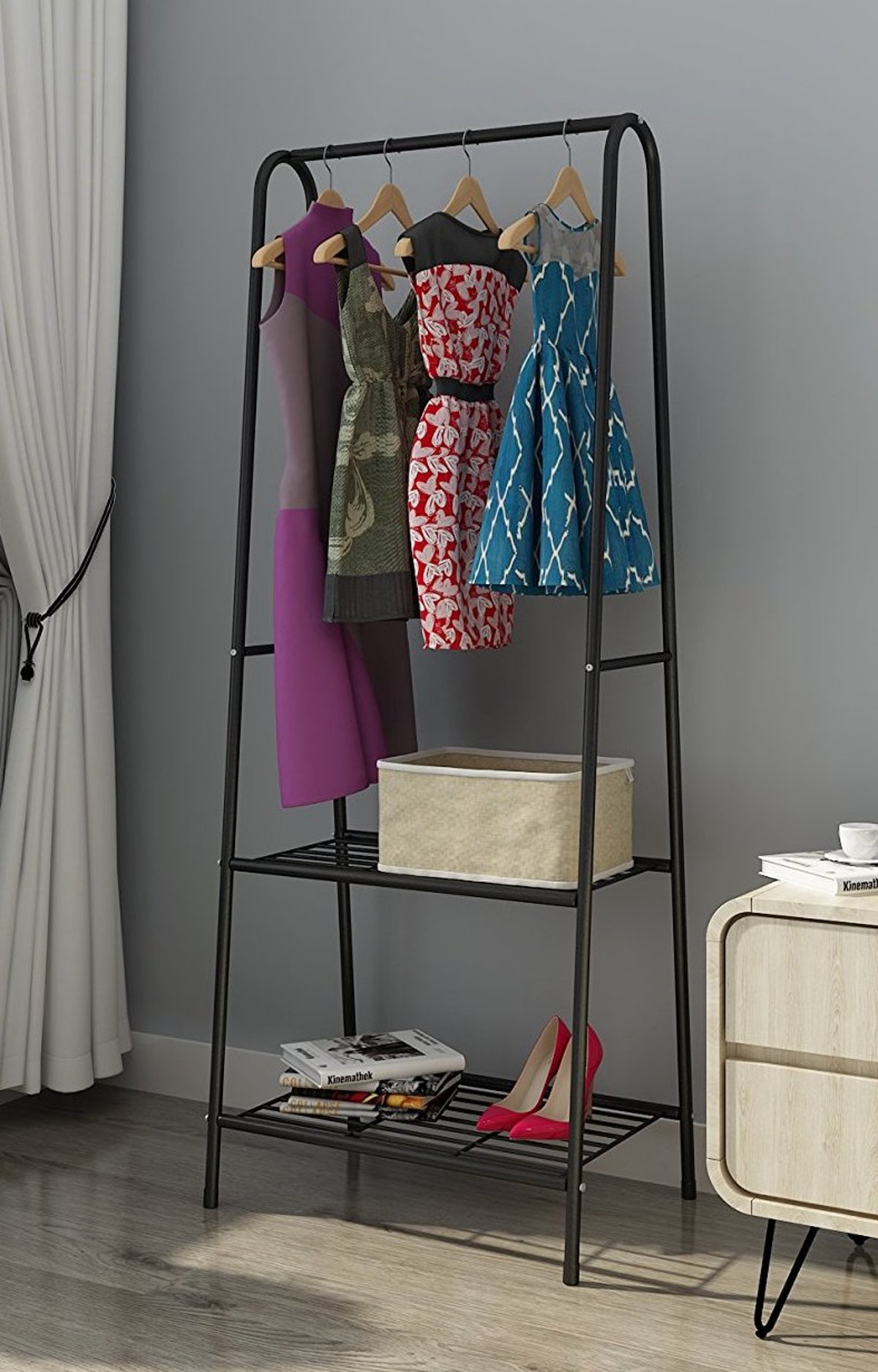 MULSH Clothing Garment Rack