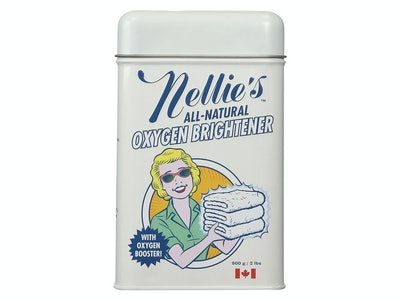 Nellie's All Natural Oxygen Brightener Powder Tin