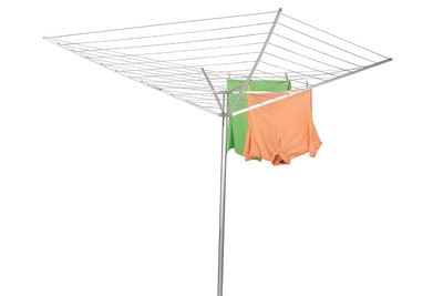 Household Essentials 17120-1 Rotary Outdoor Umbrella Drying Rack