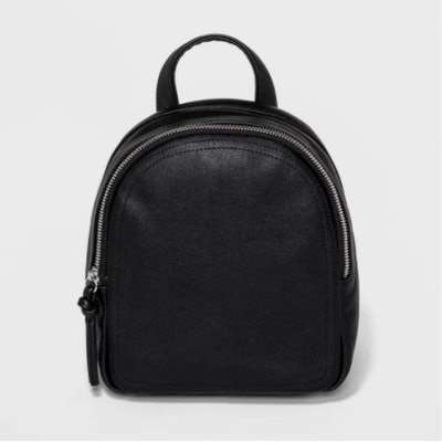 Women's Faux Leather Mini Backpack