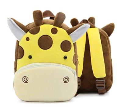 Plush Animal Cartoon Backpack