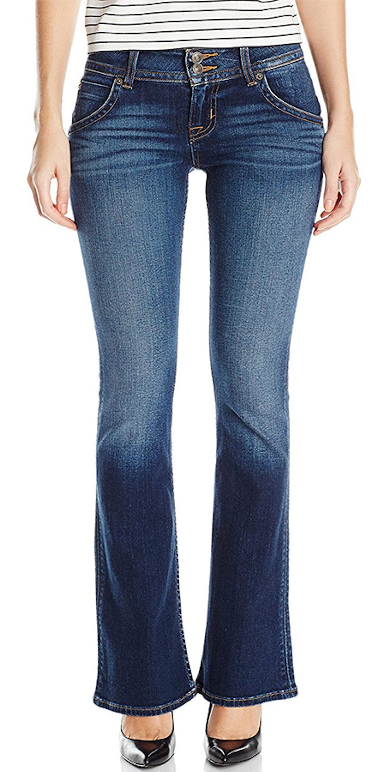 Hudson Jeans, Women's Petite Size Signature Bootcut Flap Pocket Jean