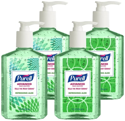 Purell ECDECO Advanced Design Series Hand Sanitizer (Set of 4)