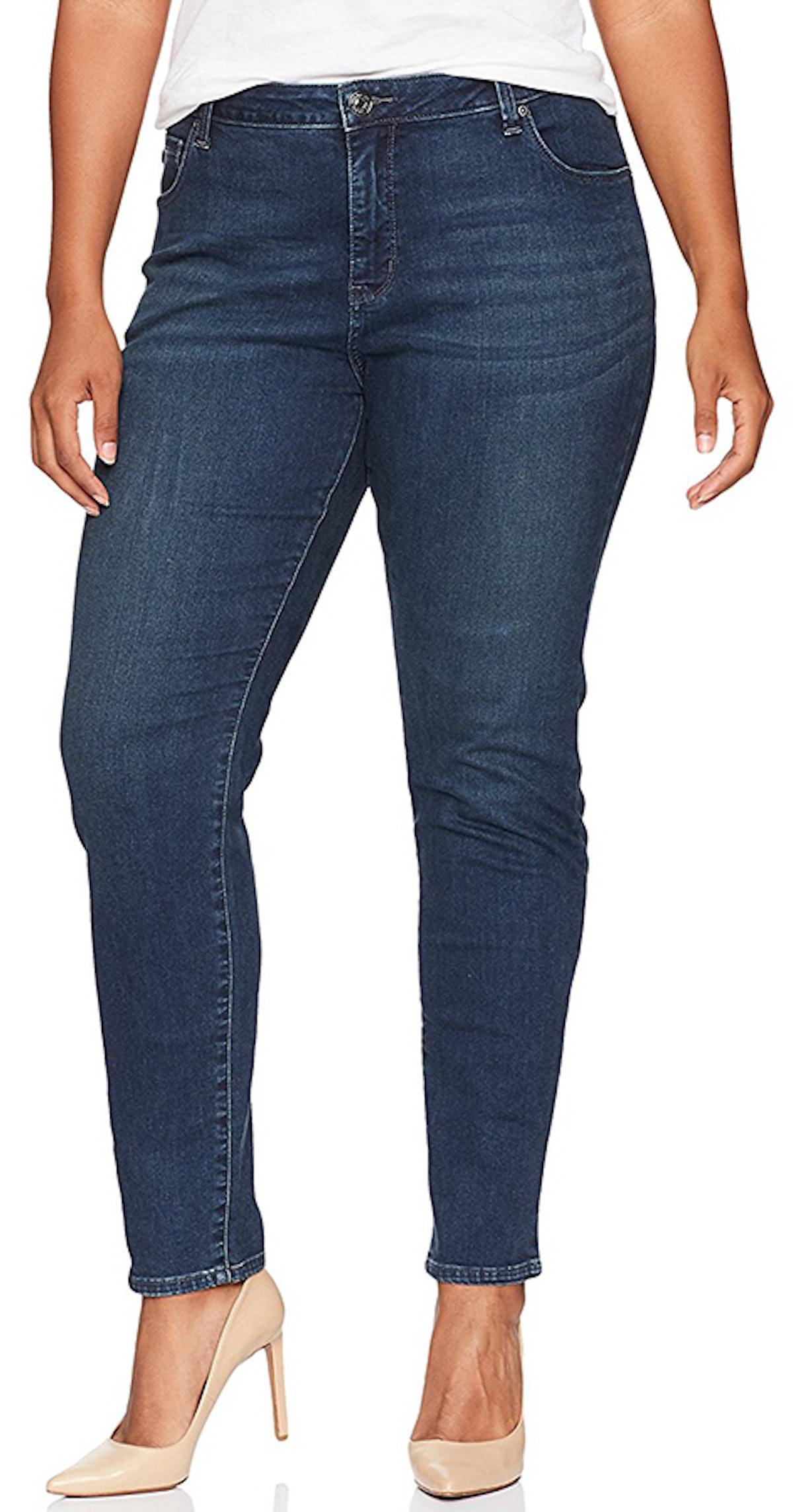 LEE, Women's Plus Size Rebound Skinny Leg Jean