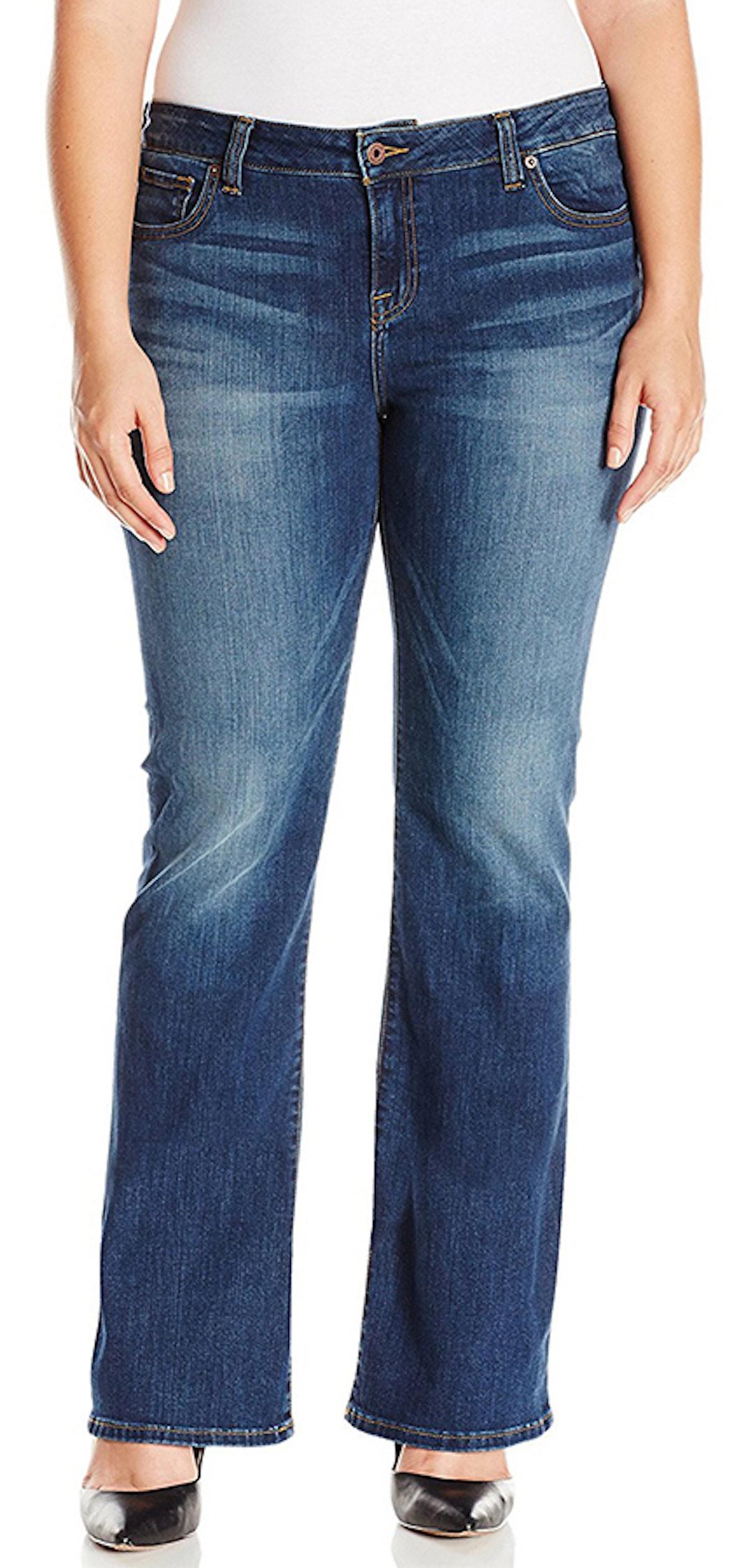 Lucky Brand, Women's Petite-Plus Ginger Bootcut Jean