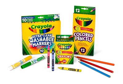 Crayola Core Pack for Back to School