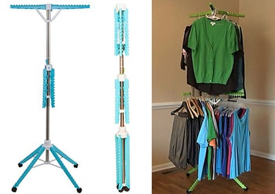 Home Solution Clothes Drying Rack, 2-Tier High Capacity
