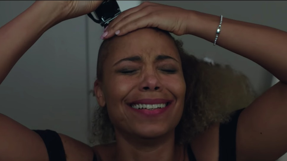 The Nappily Ever After Trailer Shows Sanaa Lathan Giving Herself A