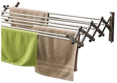 Aero W Stainless Steel Folding Clothes Rack