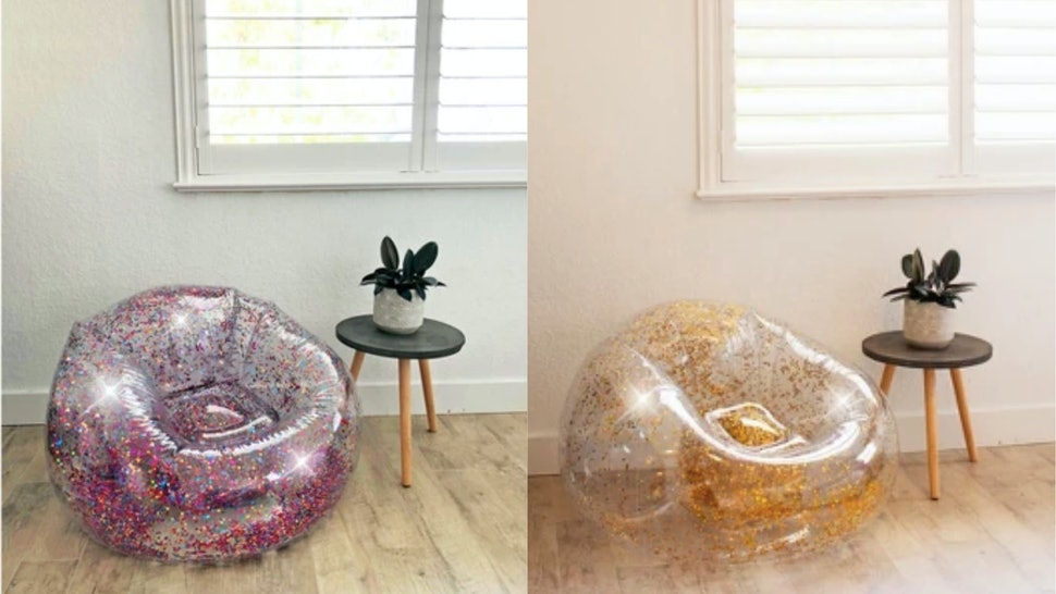 Remarkable Targets Inflatable Glitter Chairs Come In 3 Different Pdpeps Interior Chair Design Pdpepsorg