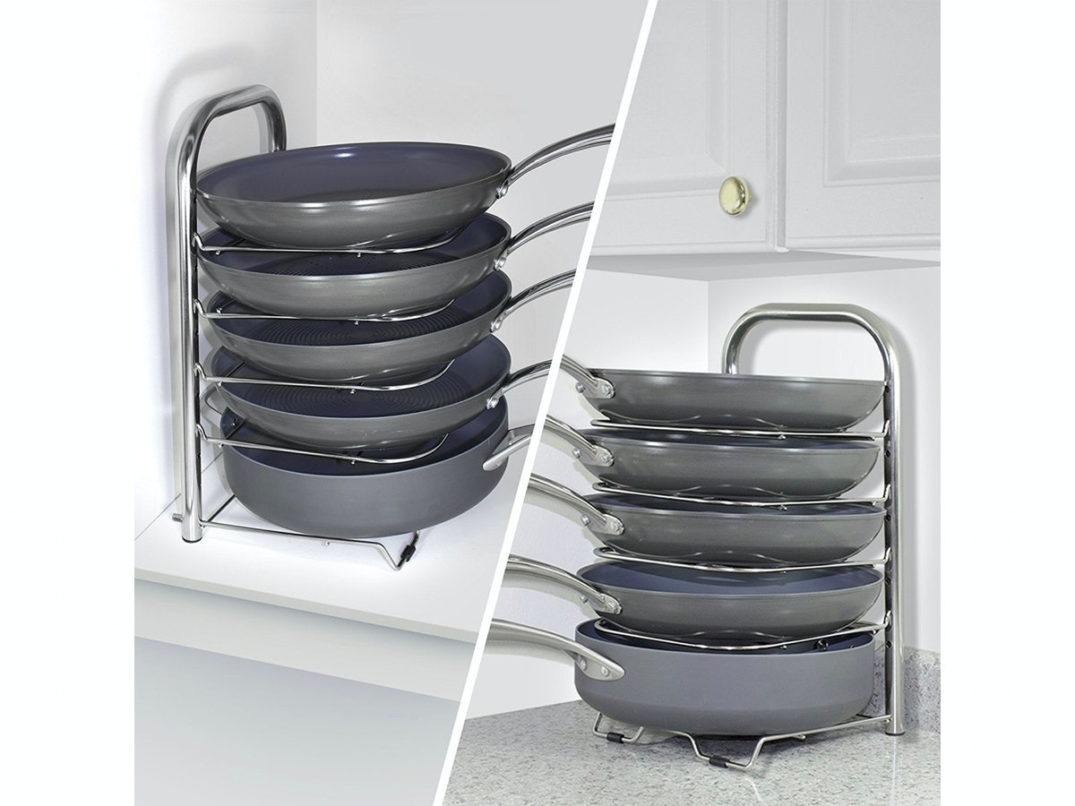 BetterThingsHome 5-Tier Pot and Pan Organizer
