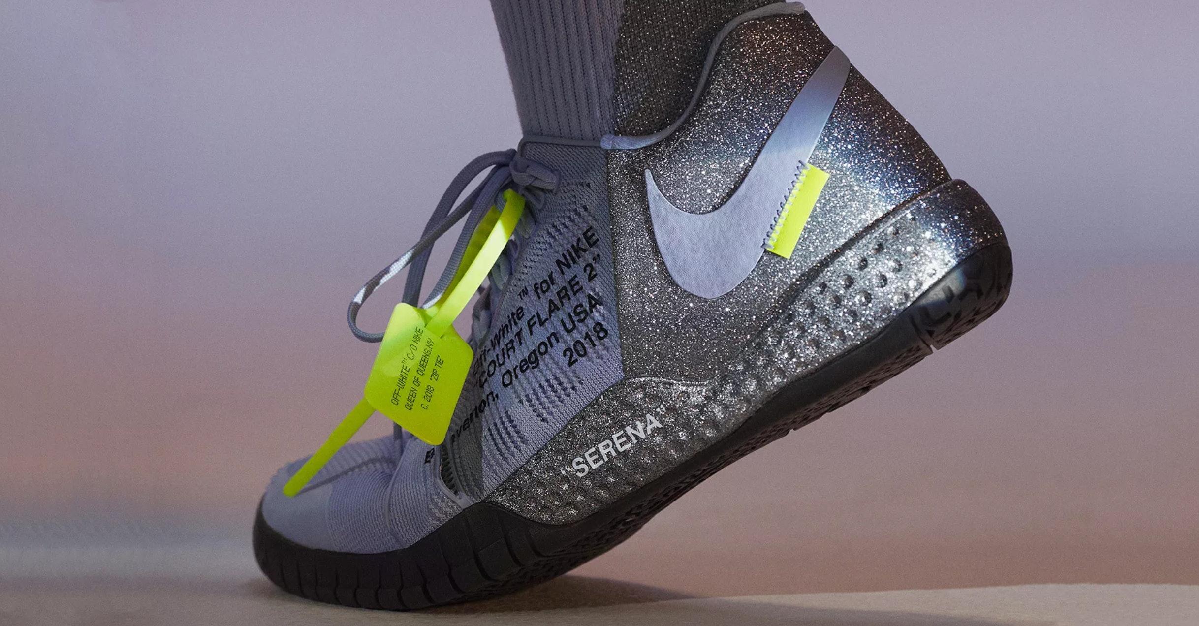 The Nike x Virgil Abloh for Serena
