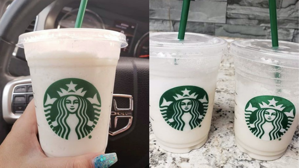 How To Order The White Drink From The Starbucks Secret Menu