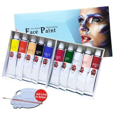 Lasten Face Paint Kit