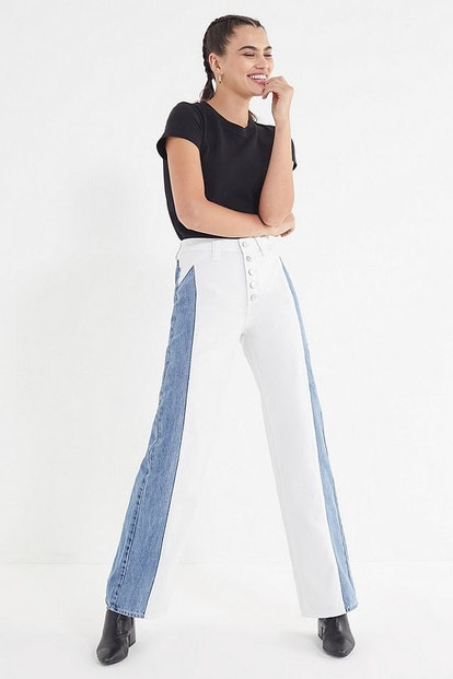 BDG Roundabout Wide-Leg Jean – Button Fly