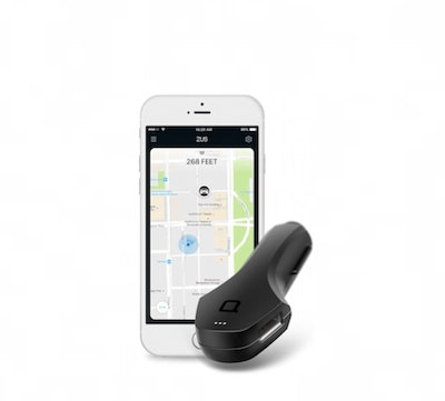 Nonda ZUS Smart Car Charger with Car Finder