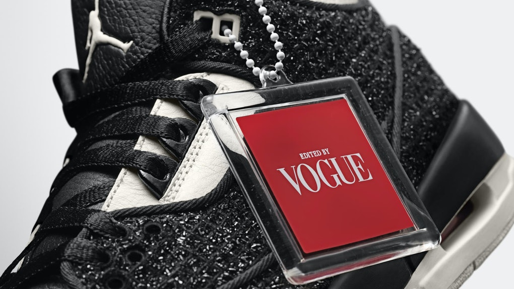 hot sale online 34244 3c278 The Vogue x Nike Air Jordan Collaboration Is The Most High Fashion  Sneaker Ever