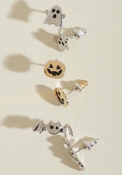 Glitz Is Halloween Earring Set