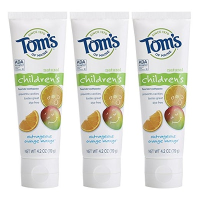 Tom's Of Maine Anticavity Fluoride Children's Toothpaste (3-Pack)