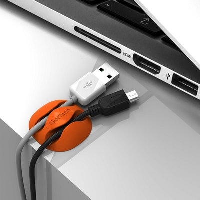 iGotTech Cable Clips & Cord Management System