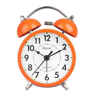 Hense Retro Twin Bell Alarm Clock