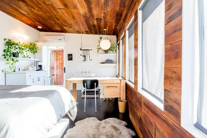 Enjoy the Hollywood Hills with this modern cabin from Airbnb.