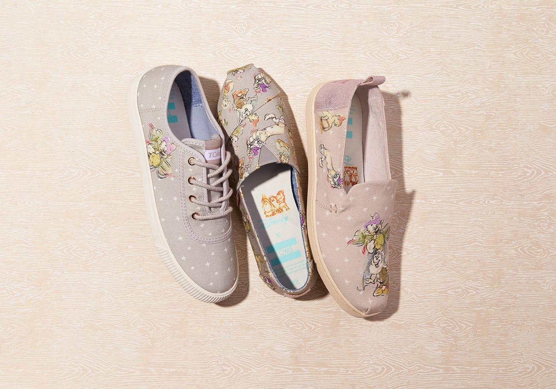 The Disney x TOMS Snow White Collection