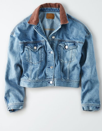 AE Corduroy Denim Jacket