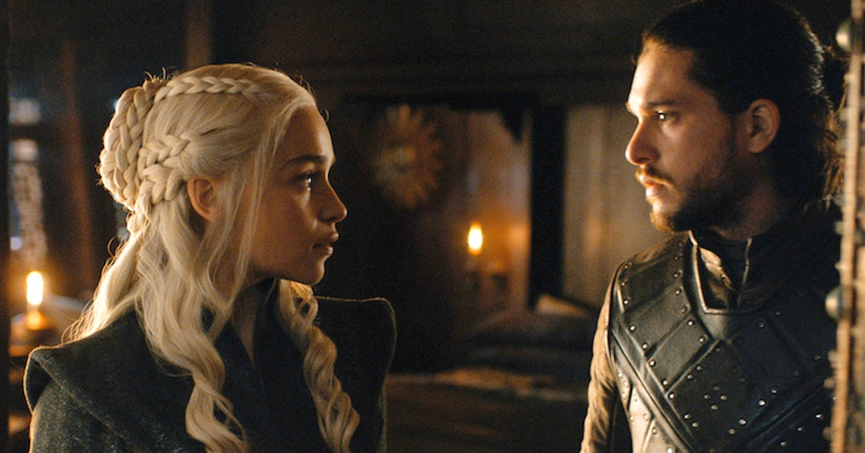 Image result for jon snow and dany