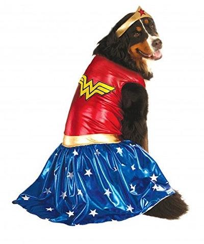 Rubie's Big Dogs Wonder Woman Dog Costume