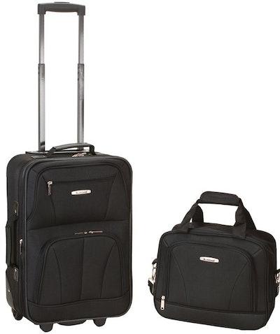 Rockland Luggage Softside Luggage Set