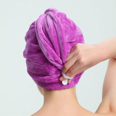 AuroTrends Microfiber Hair Towel