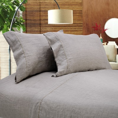 Simple&Opulence 100 Percent Linen Sheet Set