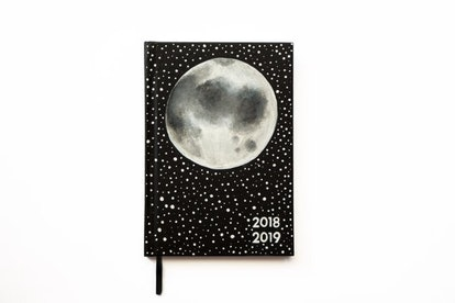 2018/2019 Planner Big Full Moon with Stars