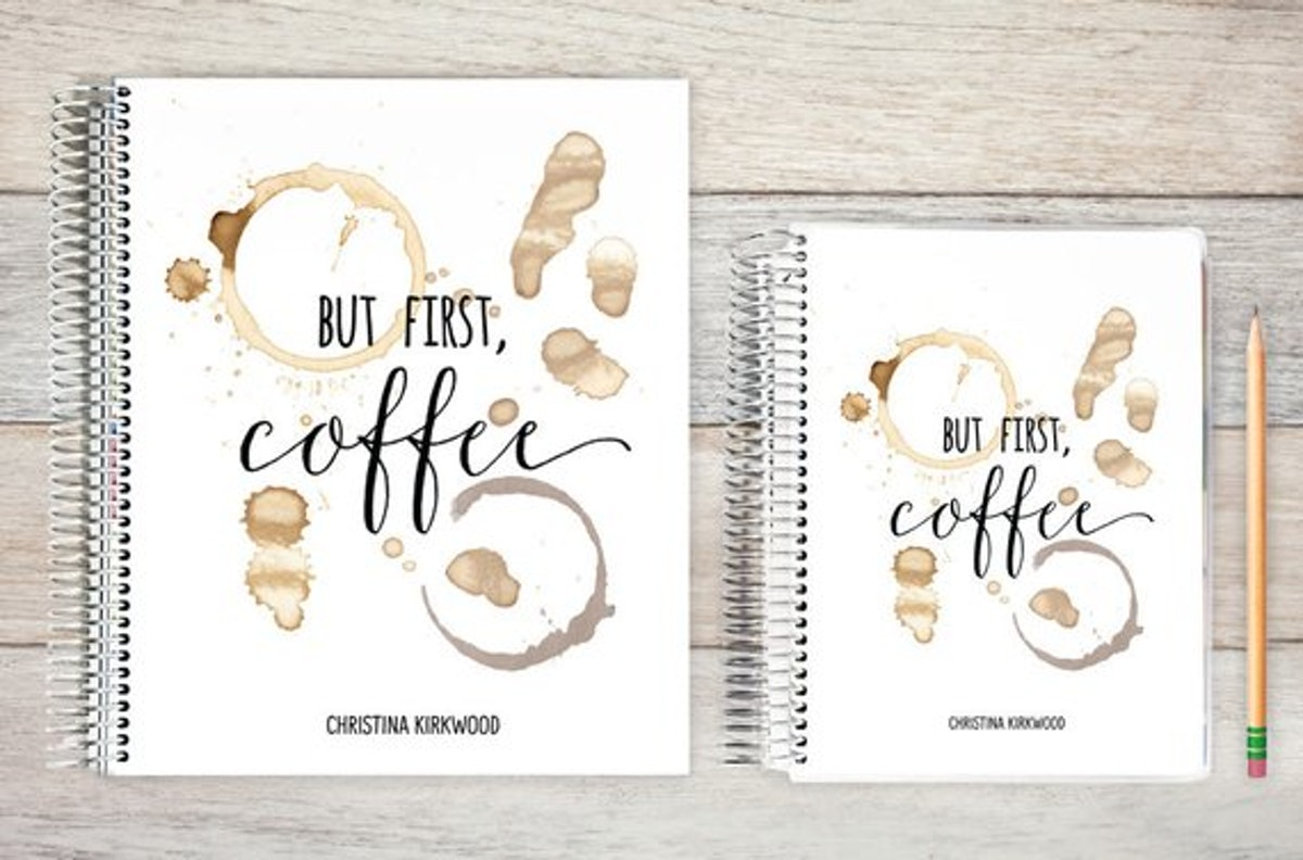 But First, Coffee Planner