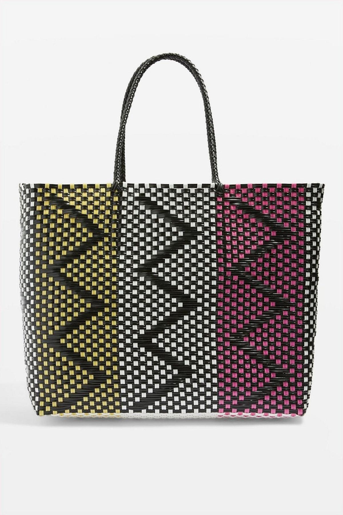 Peter Woven Shopper Bag