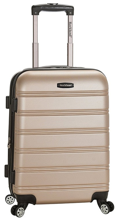 Rockland Melbourne Expandable ABS Luggage