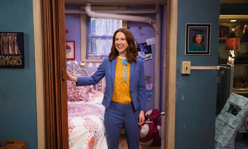 Ellie Kemper in Unbreakable Kimmy Schmit, one of many lighthearted comedy shows on Netflix.