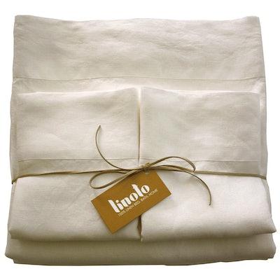 Linoto 100% Linen Sheets Bed Sheet Set (Twin-California King)