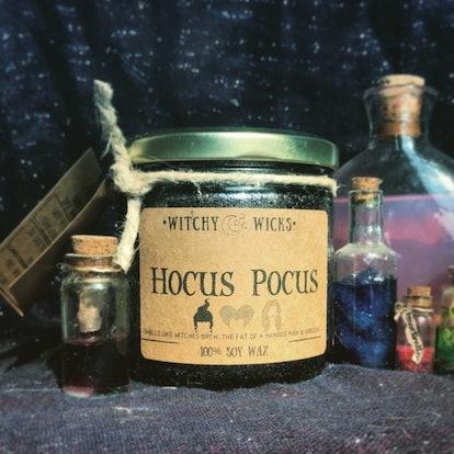 Hocus Pocus 100 Percent Soy Wax Candle