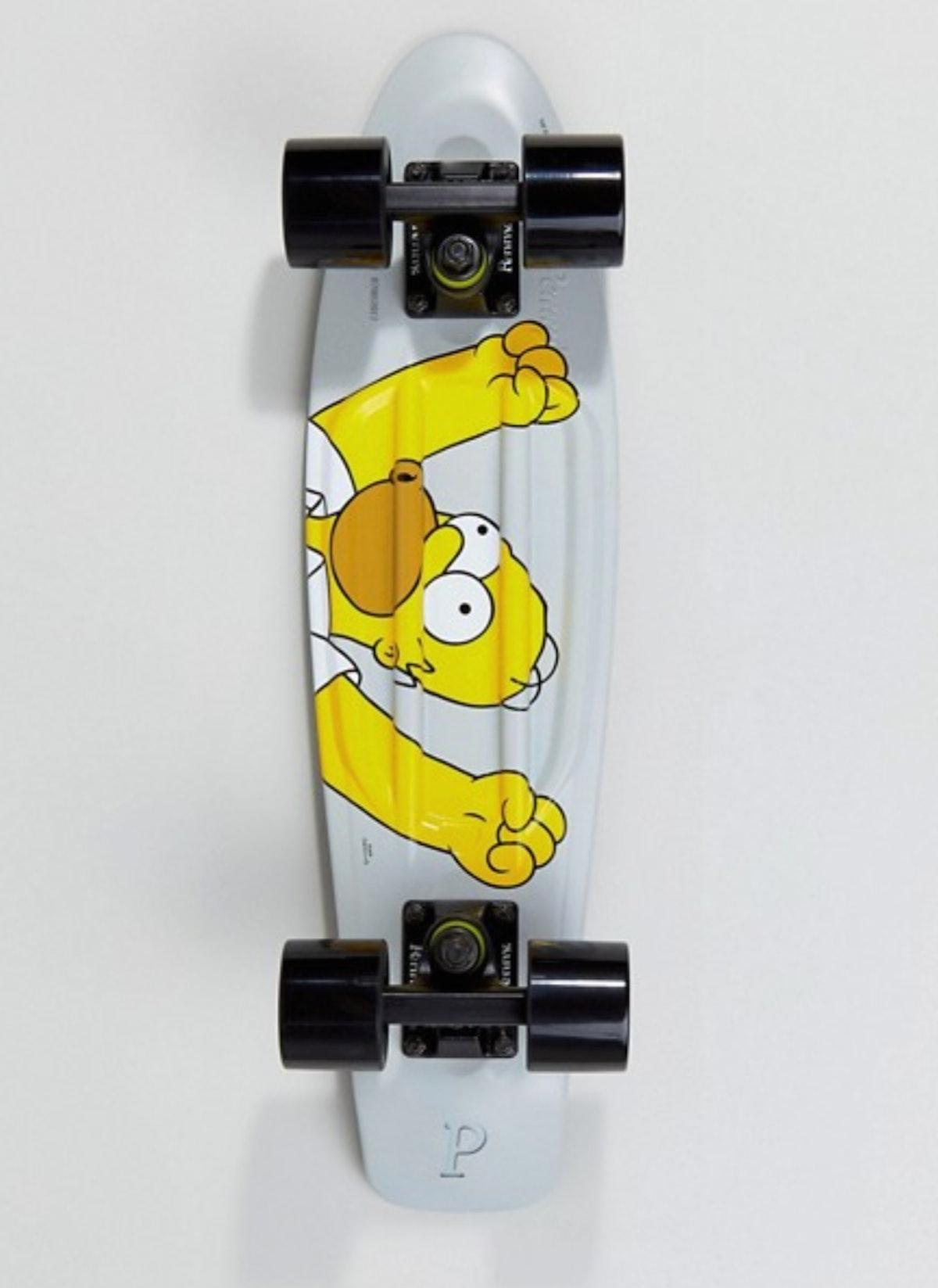 'The Simpsons' x Penny homer skateboard