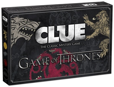 USAOPOLY Clue: Game of Thrones Edition