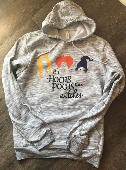 It's Hocus Pocus Time Witches Hoodie