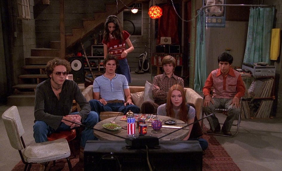 the that 70s show 20 year reunion was commemorated with the best