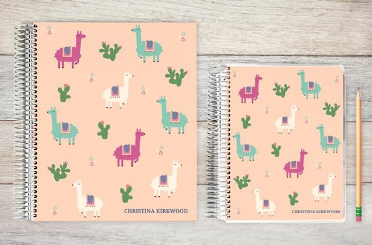 Llama And Cactus Planner